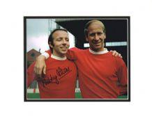 Nobby Stiles Autograph Signed Photo